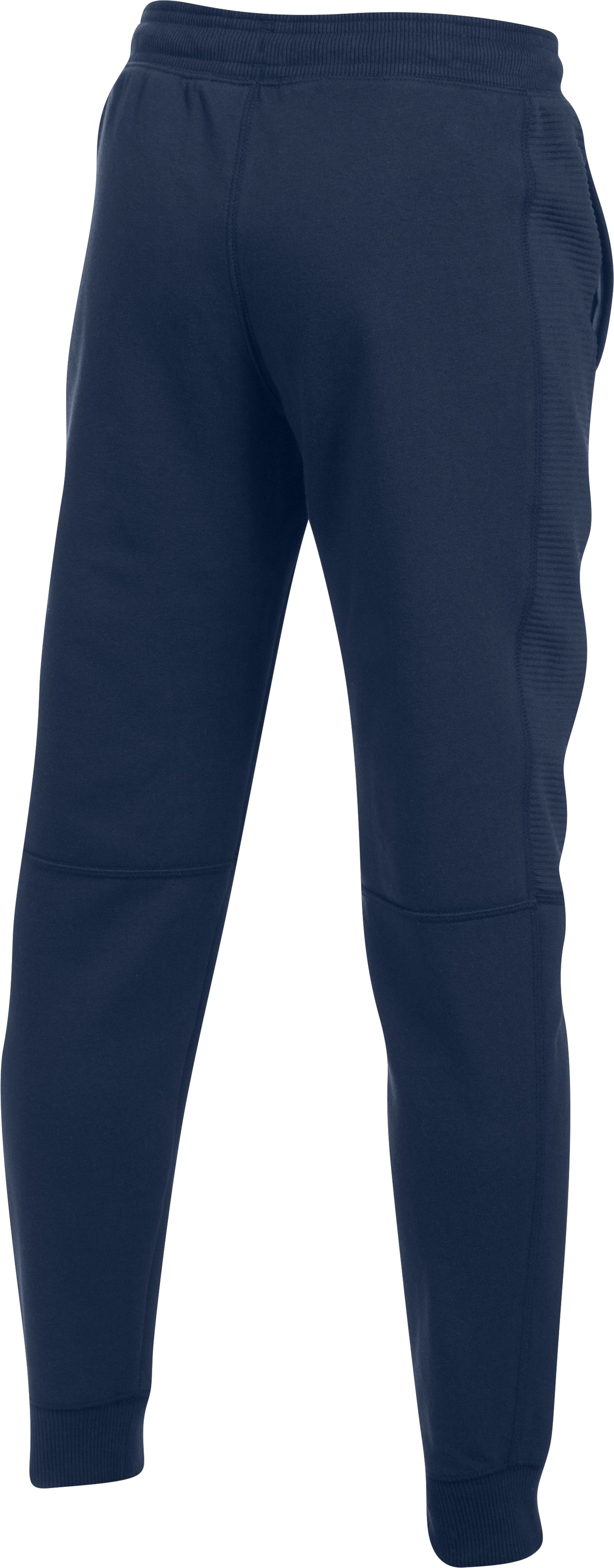 Boys' UA Stretch Fleece Ridge Jogger, Midnight Navy,