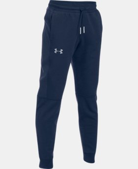 Boys' UA Stretch Fleece Ridge Jogger  3 Colors $64.99
