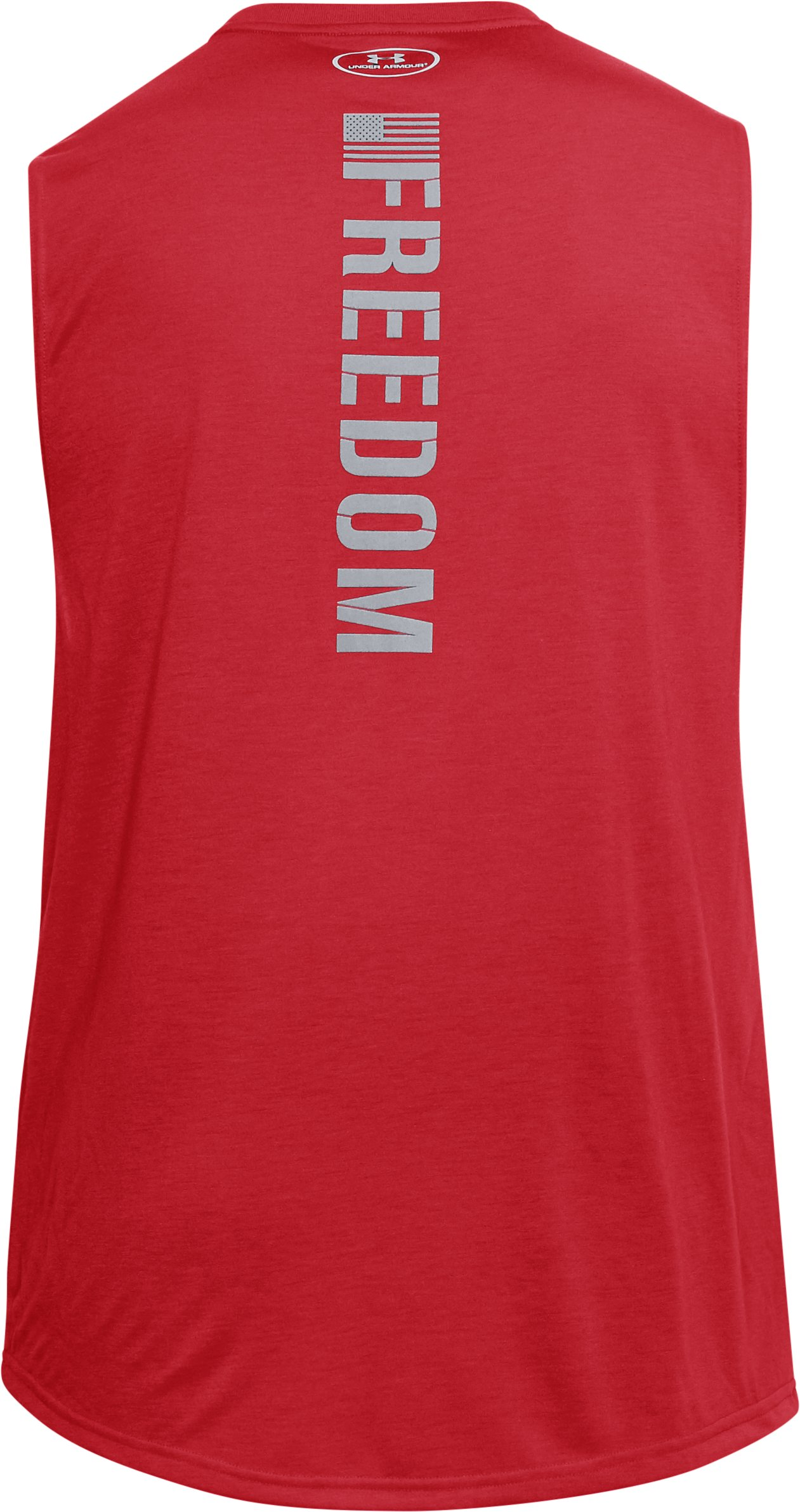 Men's UA Freedom Muscle Tank, Red,