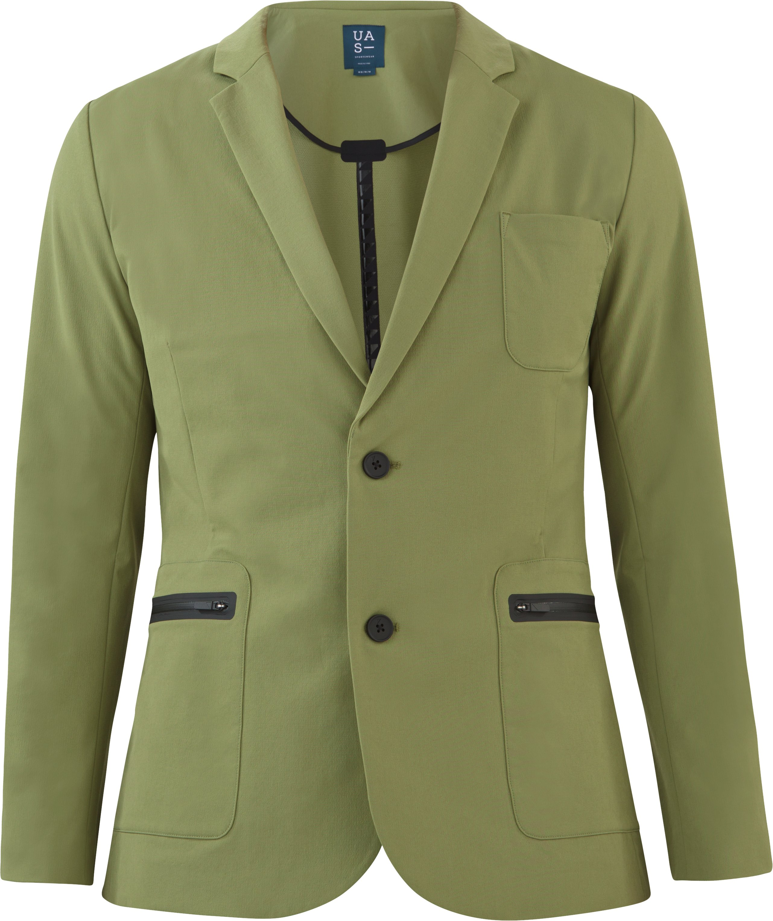Men's UAS Draftday Crepe Blazer, MILITARY, undefined