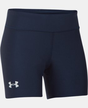 "Girls' UA On The Court 4"" Shorts  1  Color Available $24.99"