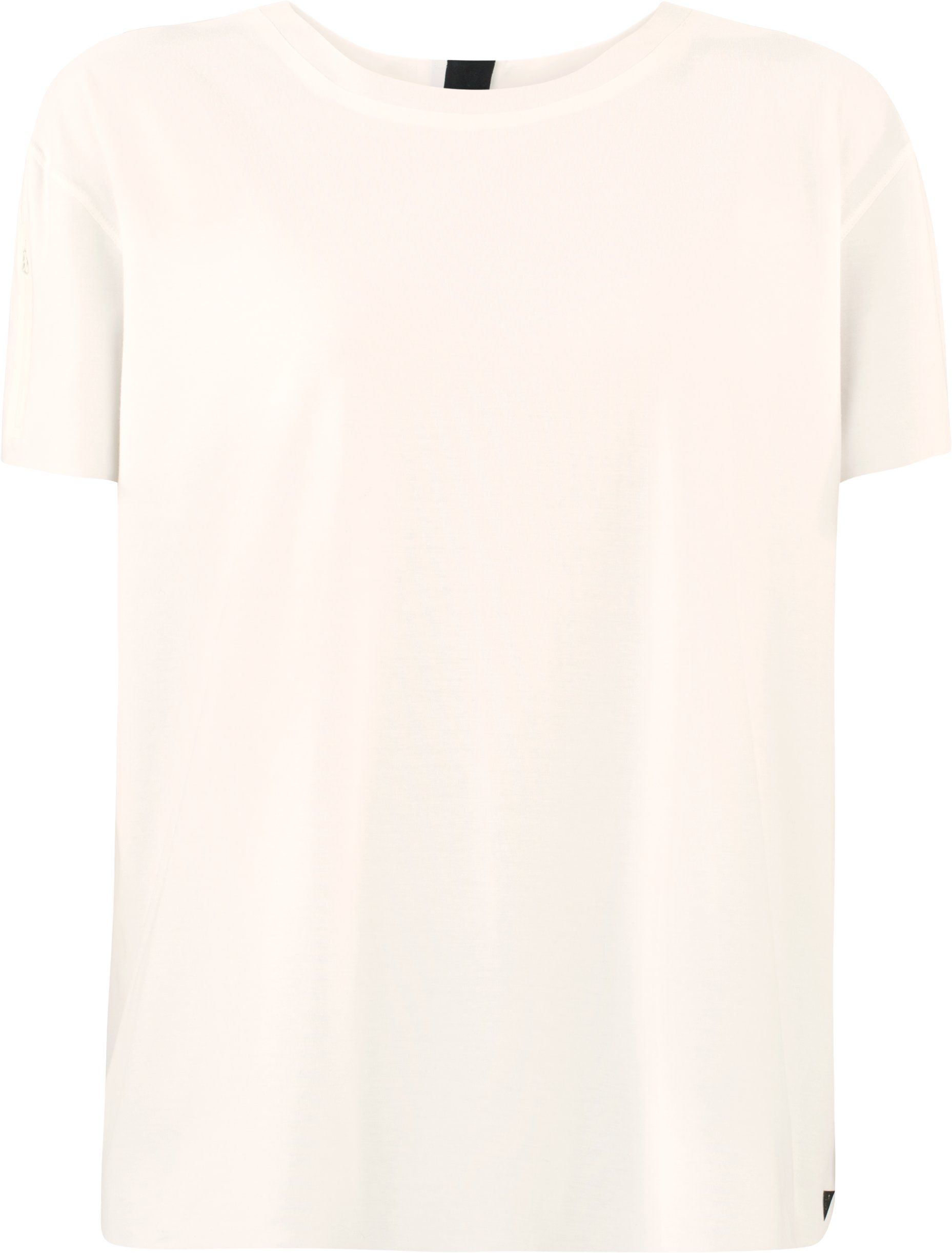 Women's UAS Back Zip T-Shirt, White,