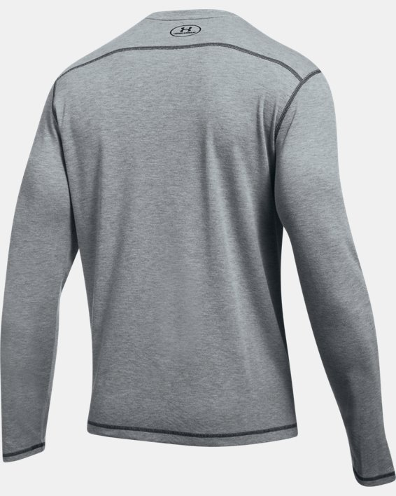 Men's ColdGear® Infrared Whitetail Pill Long Sleeve, Gray, pdpMainDesktop image number 4