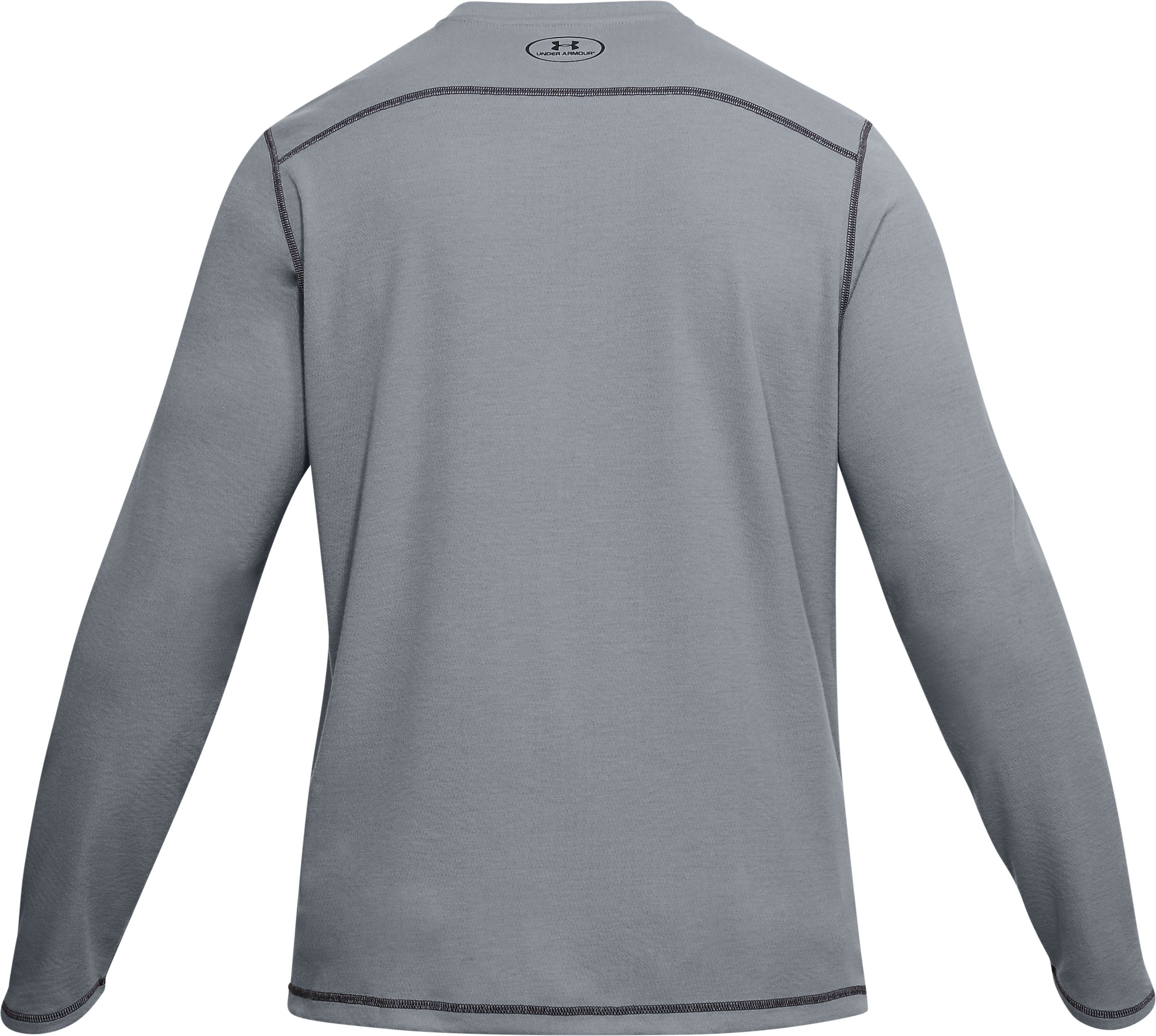 Men's ColdGear® Infrared Elk Pill Long Sleeve, Steel,
