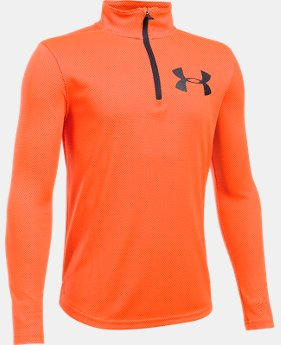 Boys' UA Tech™ Textured ¼ Zip  1 Color $20.99 to $26.99