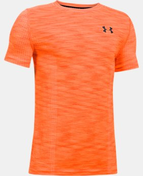Boys' UA Threadborne™ Seamless  1 Color $17.99 to $22.49