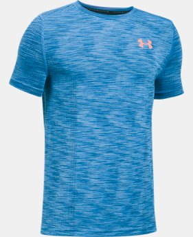 Boys' UA Threadborne™ Seamless  1 Color $34.99