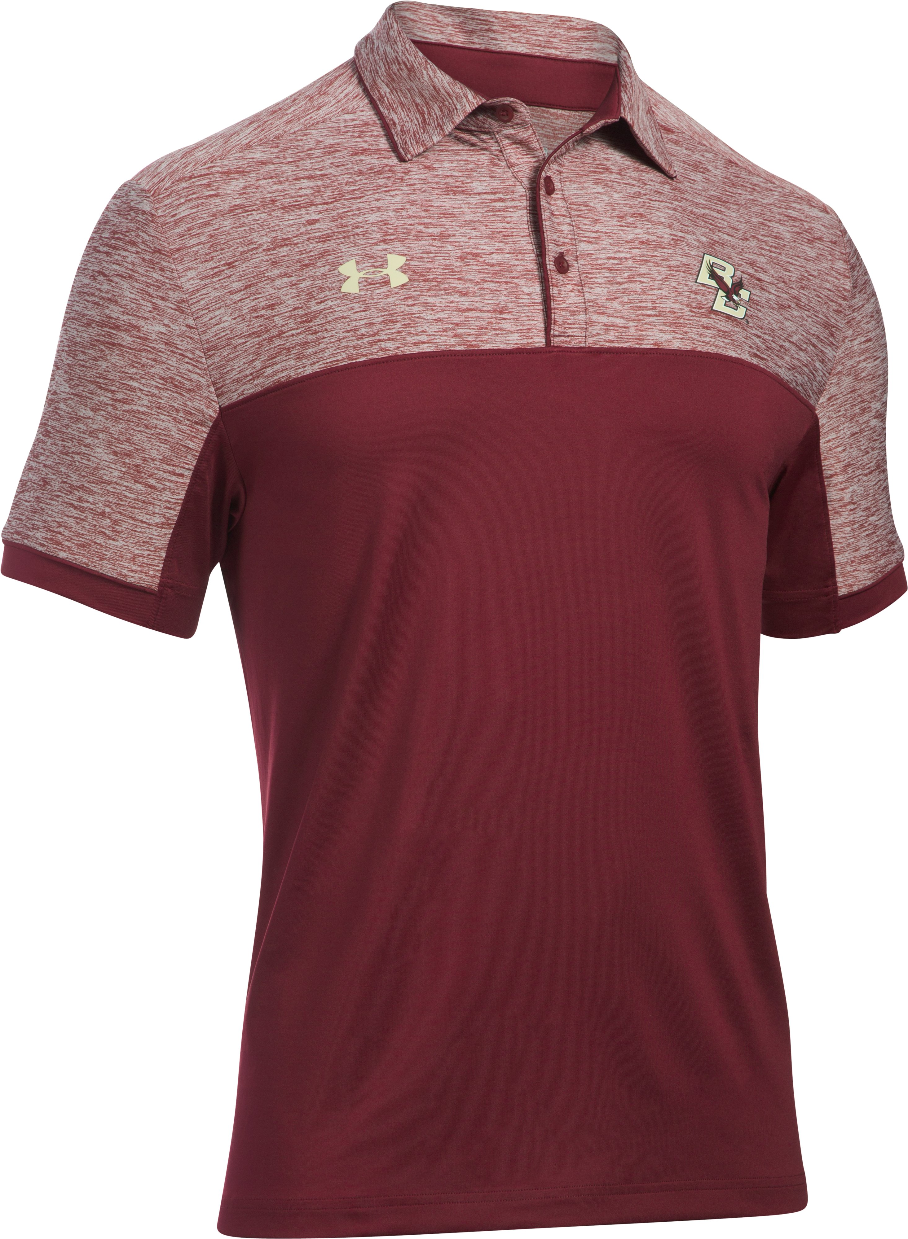 Men's Boston College UA Polo, Cardinal,