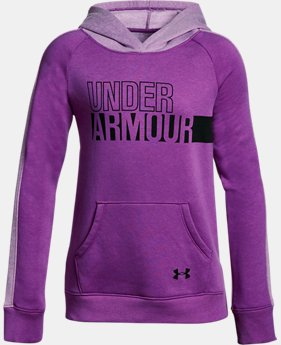 Girls' UA Favorite Fleece Hoodie LIMITED TIME OFFER 1 Color $29.99