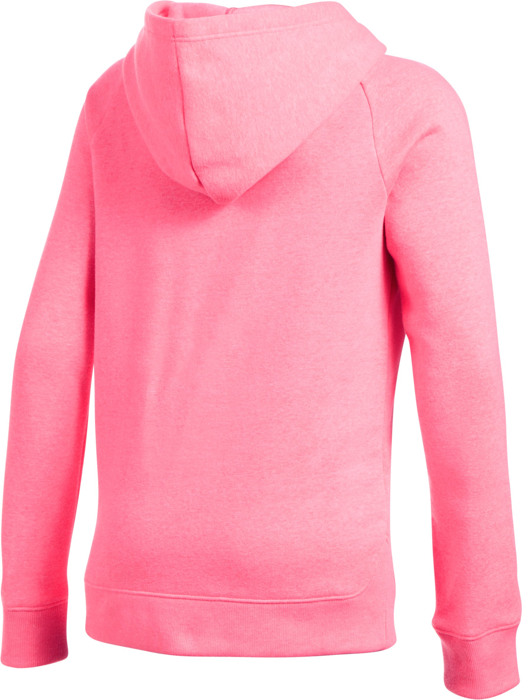 Girls' UA Favorite Fleece Hoodie, PENTA PINK
