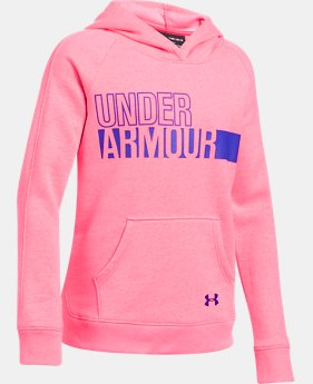 Girls' UA Favorite Fleece Hoodie  6 Colors $44.99