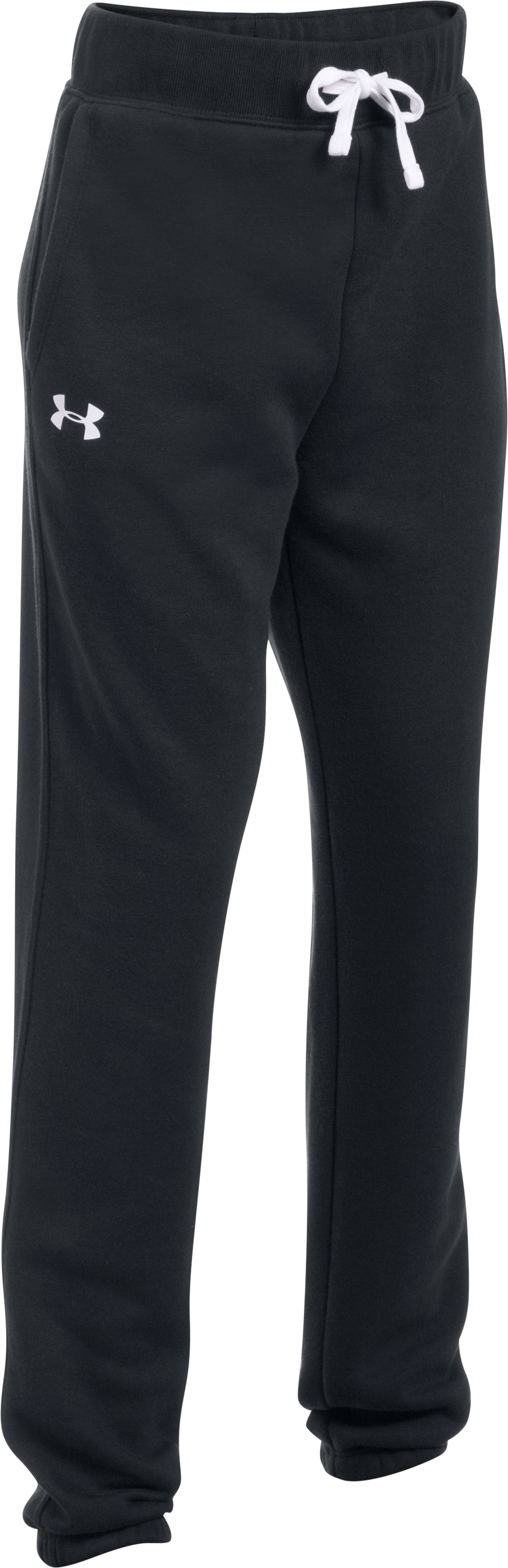 Girls' UA Favorite Fleece Jogger, Black ,