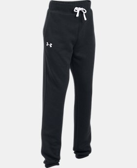 Girls' UA Favorite Fleece Jogger LIMITED TIME OFFER 3 Colors $29.99