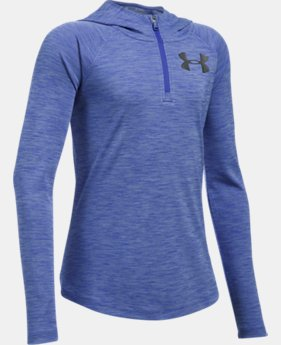 Girls' UA Tech™ ¼ Zip Printed Hoodie  1 Color $29.99
