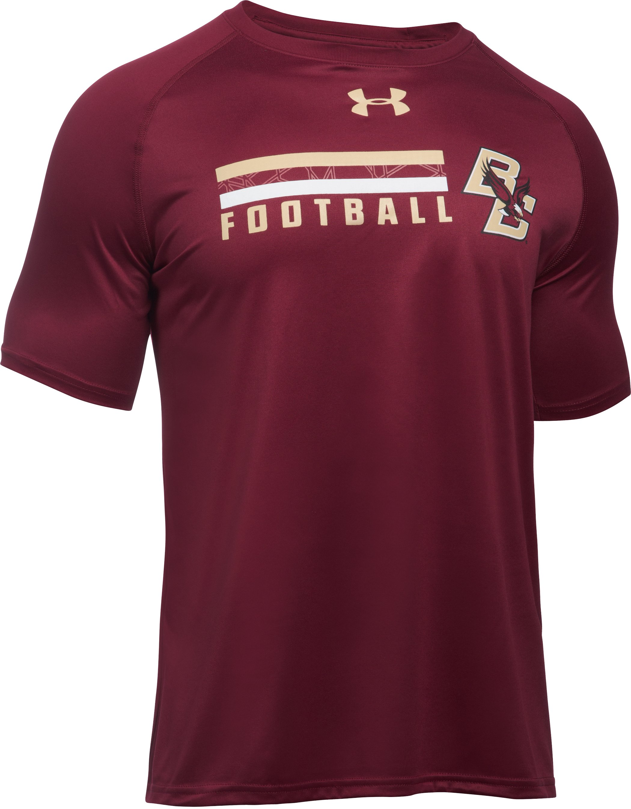 Men's Boston College UA Tech™ Sideline T-Shirt, Cardinal, undefined