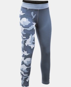 New Arrival  Girls' UA Reversible Crop Leggings  1 Color $64.99