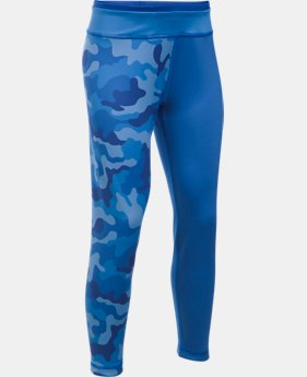 Girls' UA Reversible Crop Leggings   $81.32