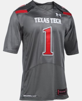 New Arrival Men's Texas Tech UA Premier Football Jersey LIMITED TIME: FREE U.S. SHIPPING 1 Color $104.99