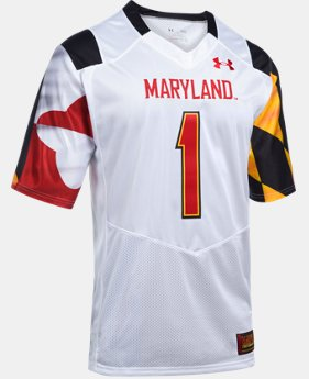 New Arrival Men's Maryland UA Premier Football Jersey LIMITED TIME: FREE U.S. SHIPPING 1 Color $104.99
