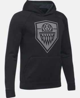 New to Outlet Boys' UA Basketball Hoodie LIMITED TIME OFFER 1 Color $29.99