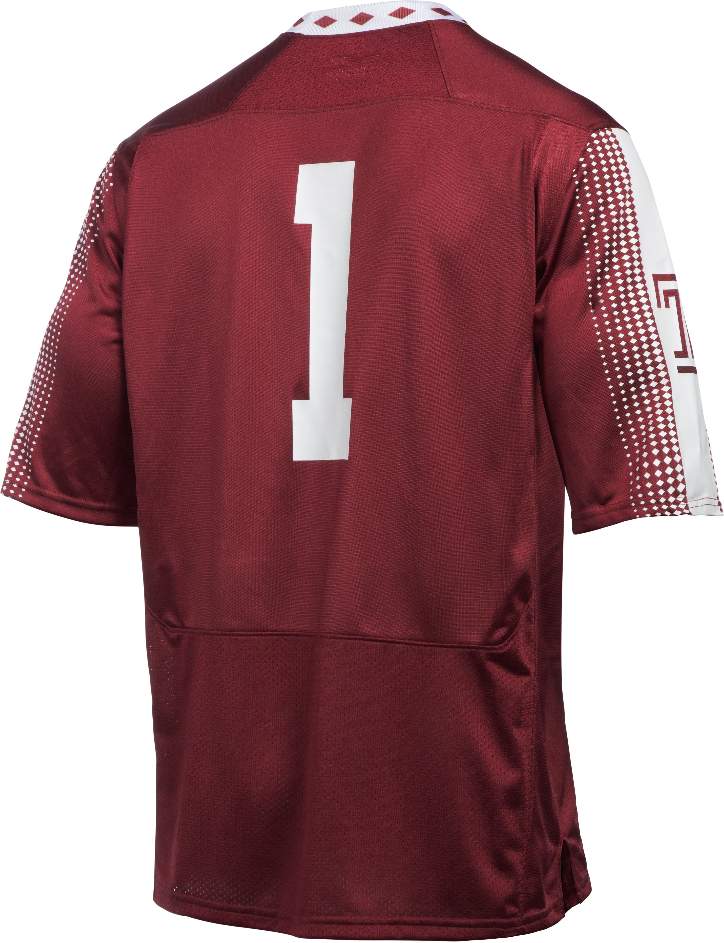 Men's Temple UA Replica Football Jersey, Maroon, undefined