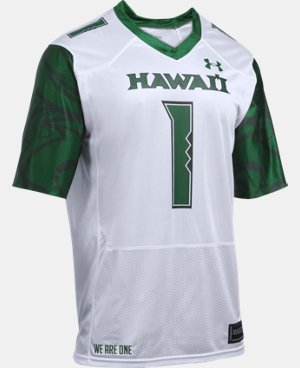 Men's Hawai'i UA Replica Football Jersey  1 Color $72.24