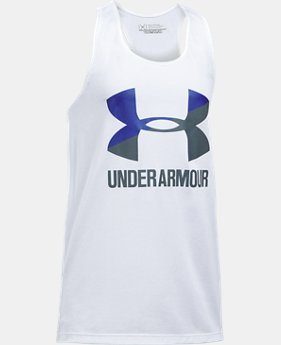 Girls' UA Big Logo Slash Tank  5 Colors $19.99