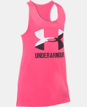 UA Big Logo Slash Tank   $19.99