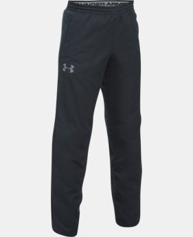 New Arrival Boys' UA Construckt ColdGear® Reactor Pants  1 Color $89.99