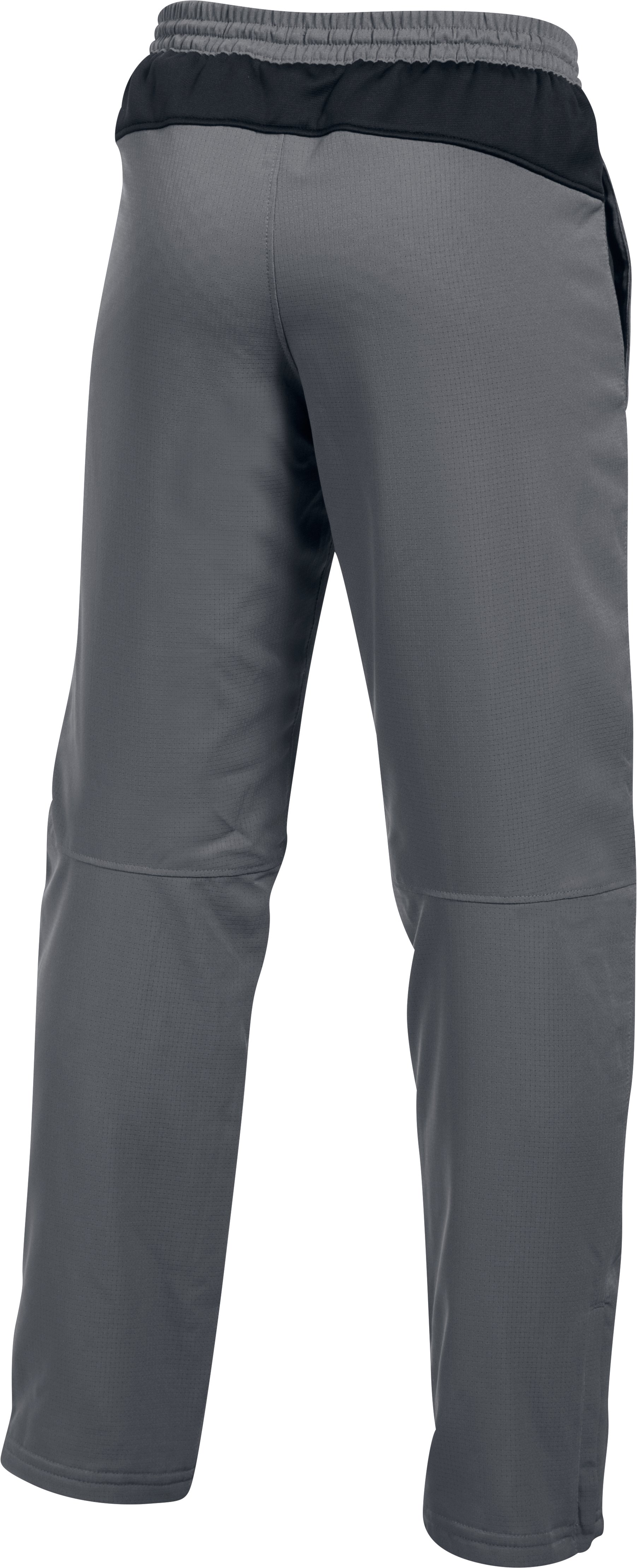Boys' UA Construckt ColdGear® Reactor Pants, Graphite, undefined