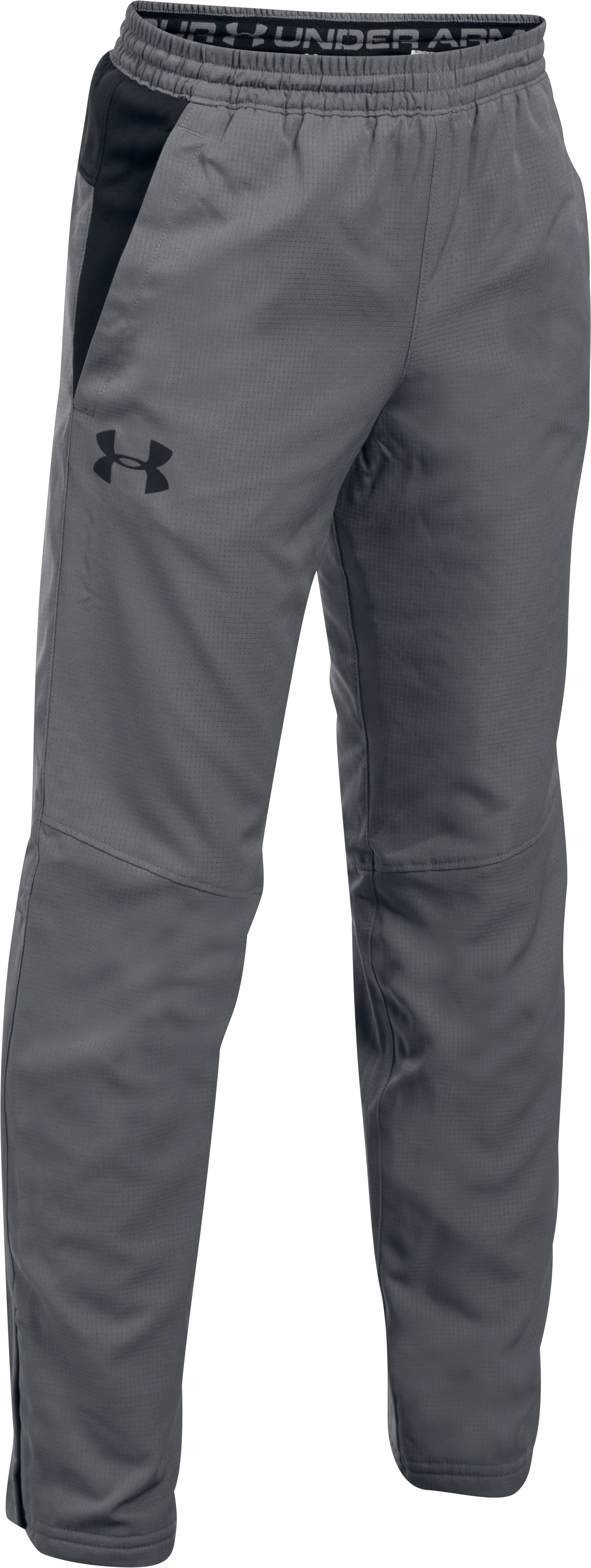 Boys' UA Construckt ColdGear® Reactor Pants, Graphite