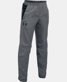 New Arrival  Boys' UA Construckt ColdGear® Reactor Pants  2 Colors $59.99
