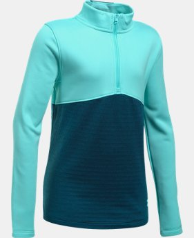 Girls' UA Expanse ¼ Zip LIMITED TIME OFFER 2 Colors $29.99