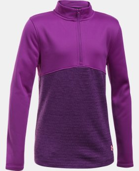 Girls' UA Expanse ¼ Zip LIMITED TIME OFFER 1 Color $35.99