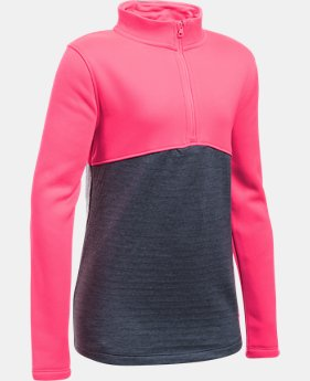 Girls' UA Expanse ¼ Zip  1 Color $37.49