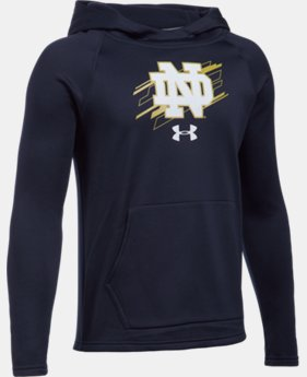 New Arrival Boys' Notre Dame UA Ninja Hoodie LIMITED TIME: FREE U.S. SHIPPING 1 Color $54.99