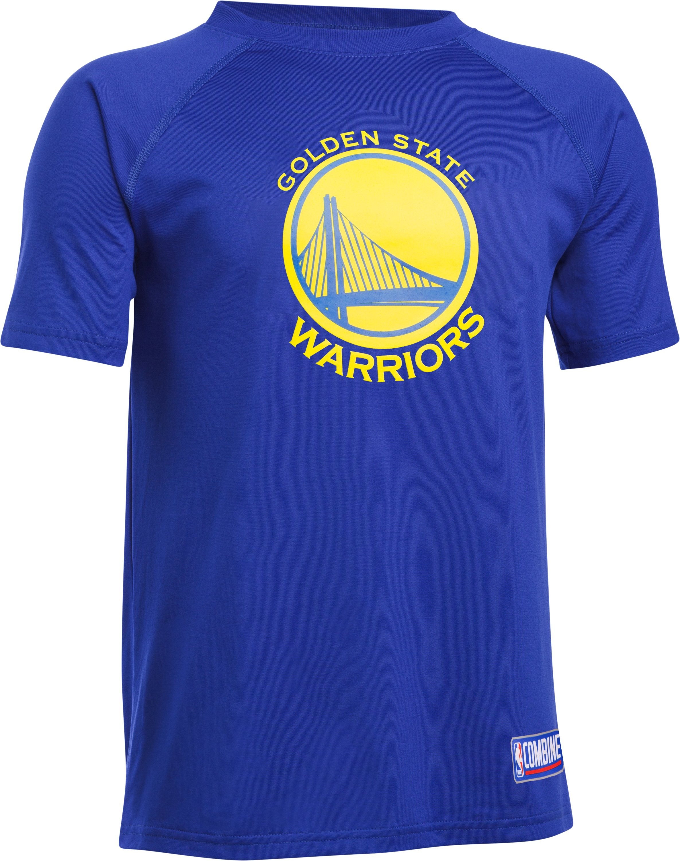 Kids' NBA Combine UA Logo T-Shirt , NBA_GOLDEN STATE WARRIORS_ROYAL, undefined