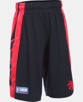 Boys' NBA Combine UA Select Shorts  15 Colors $40
