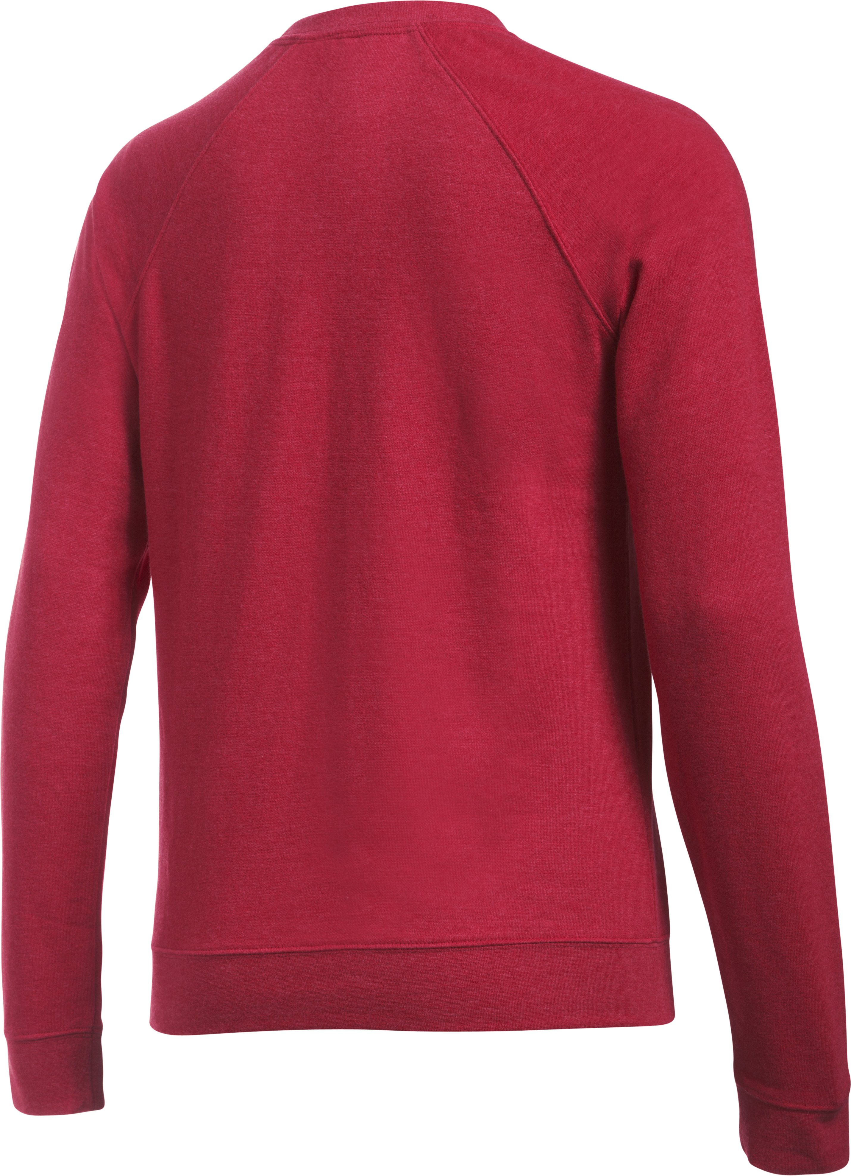 Women's Wisconsin Iconic Crew Sweatshirt, Red,
