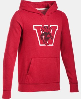 Boys' Wisconsin Iconic Hoodie  1 Color $74.99