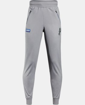 Boys' NBA Combine UA Pennant Joggers  2 Colors $45