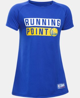 New Arrival Girls' NBA Combine Authentic Running Point T-Shirt  1 Color $28