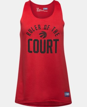 New Arrival  Girls' NBA Combine Authentic Ruler OTC UA Tech™ Tank   $27.99