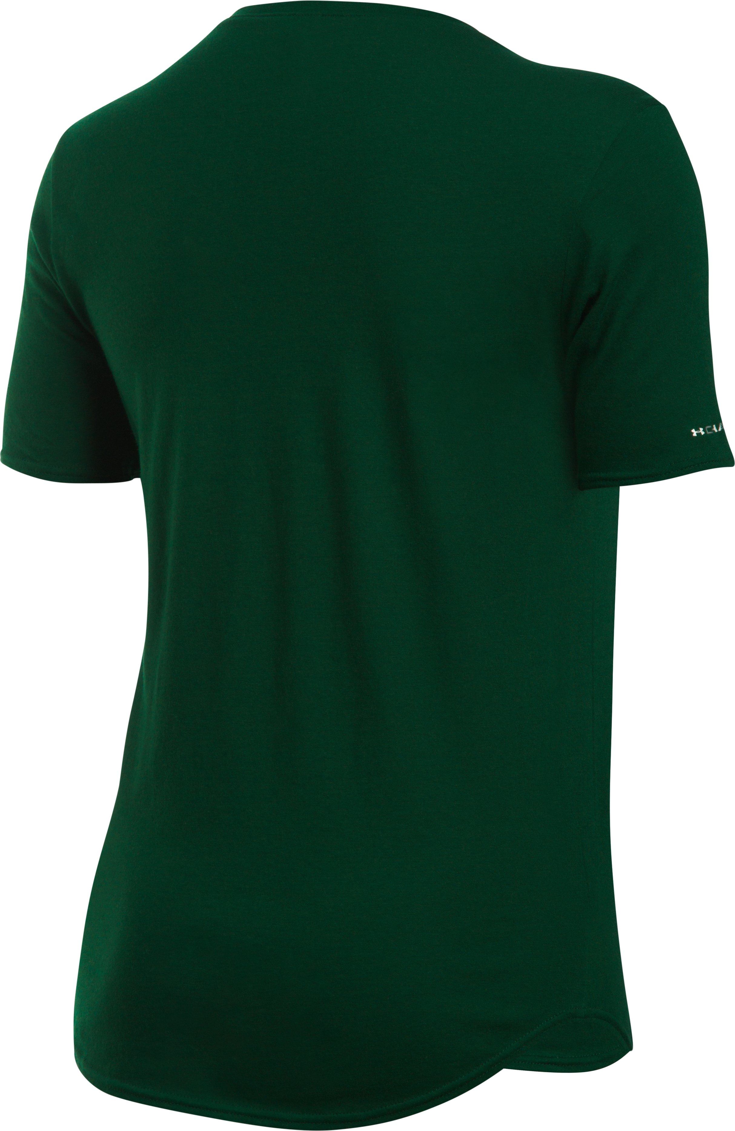 Women's Colorado State Charged Cotton® Short Sleeve T-Shirt, Forest Green