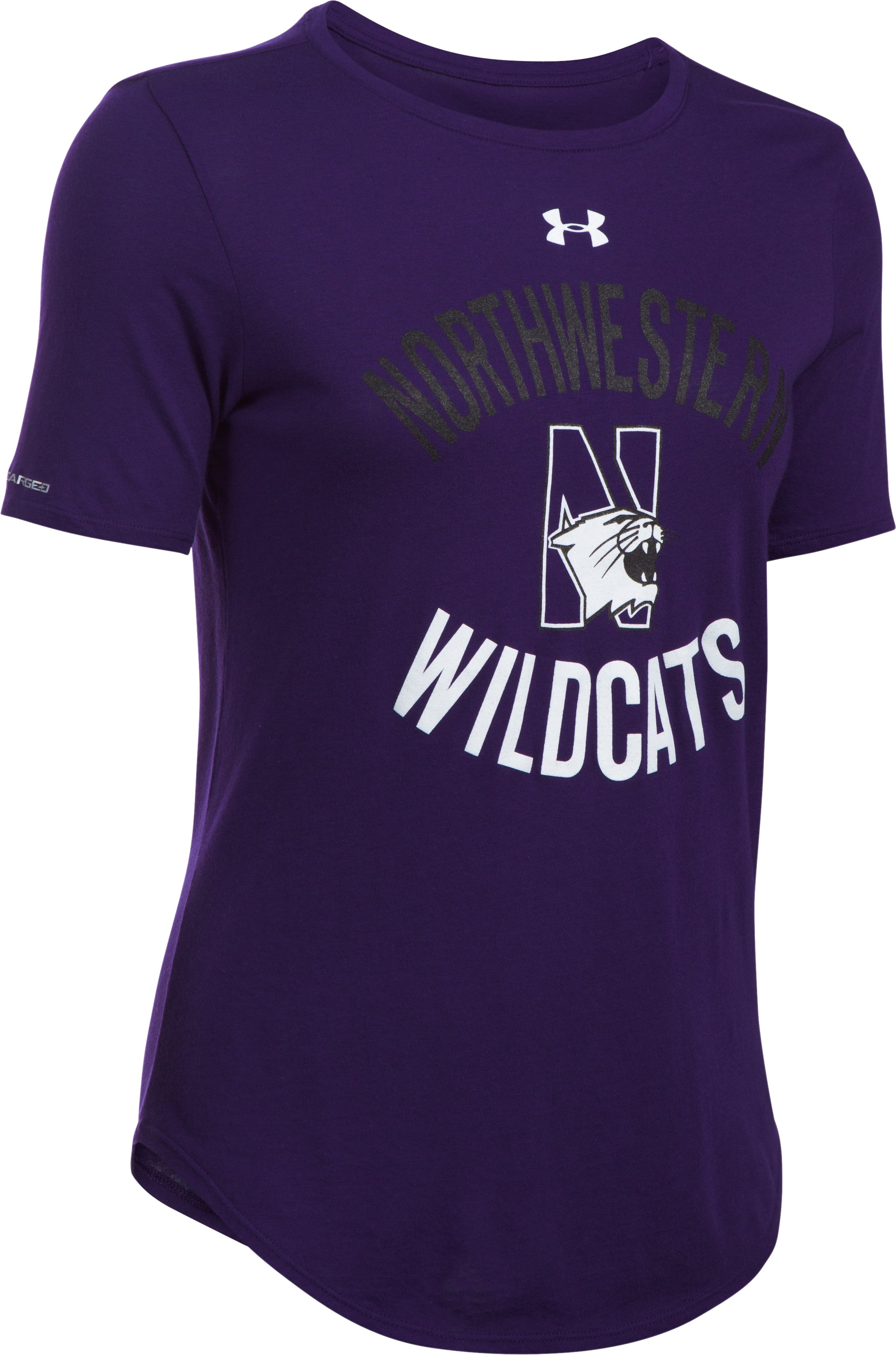 Women's Northwestern Charged Cotton® Short Sleeve T-Shirt , Purple