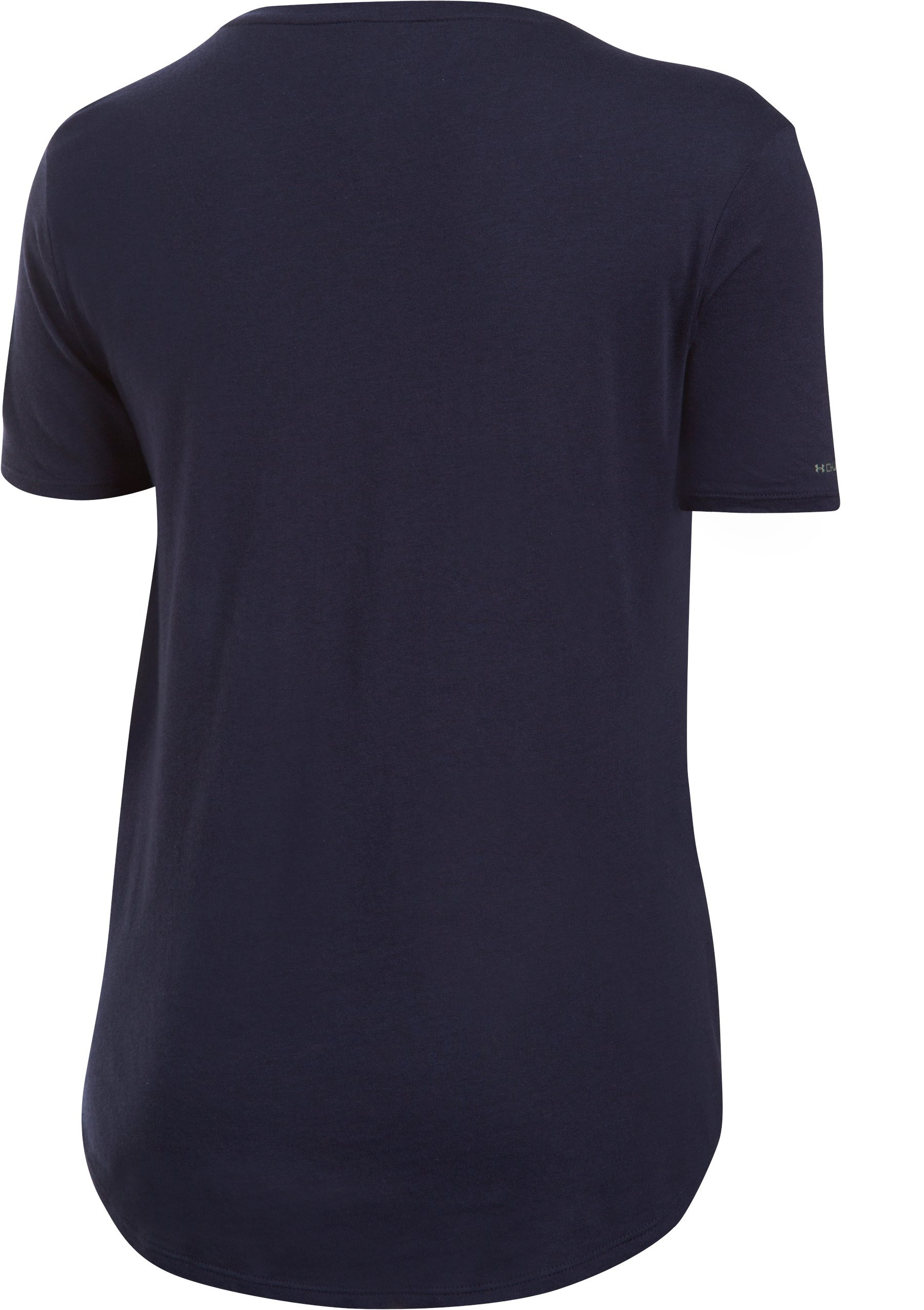 Women's Notre Dame Charged Cotton® Short Sleeve T-Shirt, Midnight Navy,