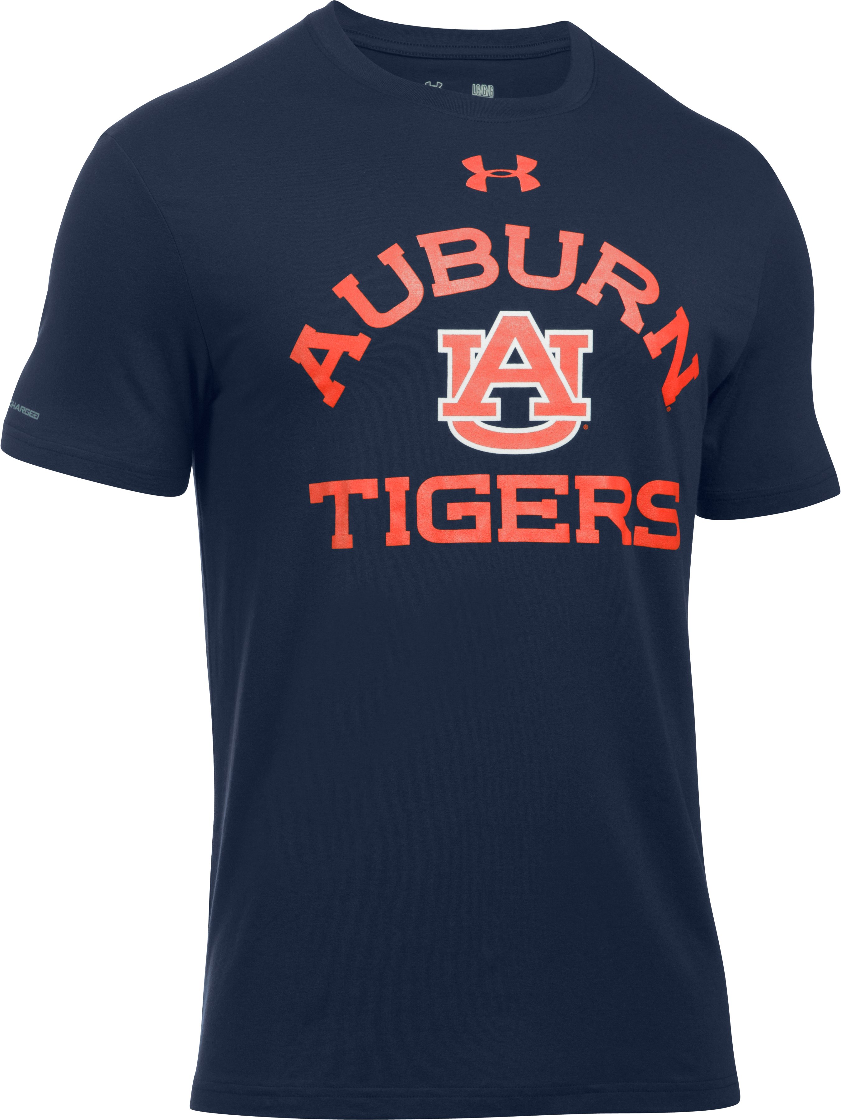 Men's Auburn Charged Cotton® T-Shirt, Midnight Navy