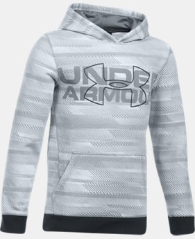 PRO PICK Boys' UA Threadborne™ Big Logo Hoodie LIMITED TIME OFFER 2 Colors $34.99