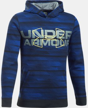 Boys' UA Threadborne™ Big Logo Hoodie  2 Colors $37.49