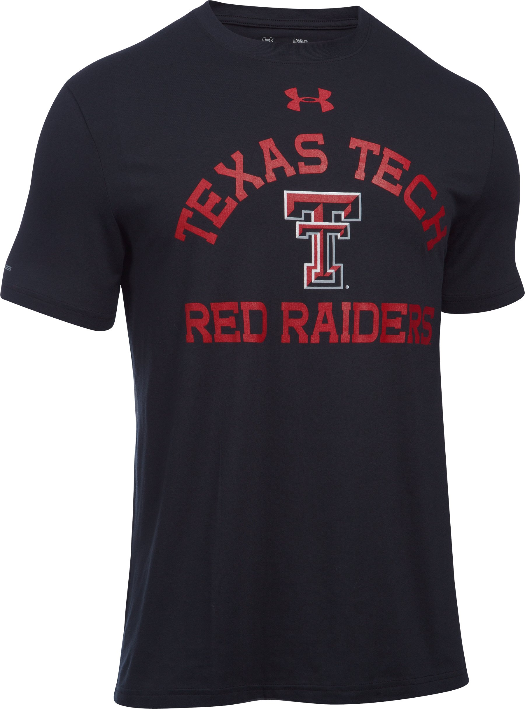 Men's Texas Tech Charged Cotton® T-Shirt, Black
